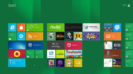 Windows 8 Developer Preview -esikatselu